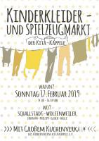 Plakat Kleidermarkt