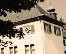 altes Bild vom Käppele, Gebäude